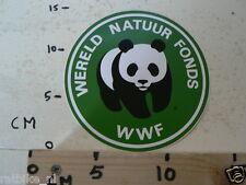 STICKER,DECAL PANDA WWF WERELD NATUUR FONDS BIG SIZE