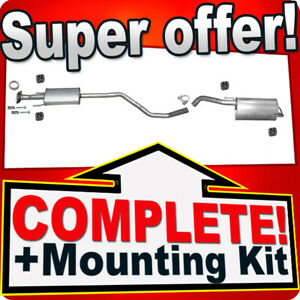 Silencer Exhaust System for Nissan Note (E11) 1.6 2006-10.2007