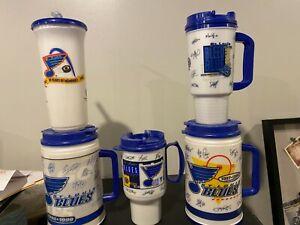 St. Louis Blues Travel Cup / Mug SGA - Pick from list - 1996-97 thru 2001-02
