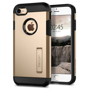 iPhone 8 7 Case I Spigen [ Tough Armor 2nd Gen ] Dual Layered Protective Cover
