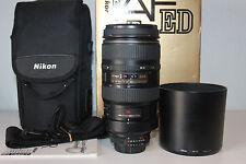 Nikon Zoom-Nikkor 80-400 mm F/4.5-5.6 VR D AF ED Objektiv 1Jahr Gewährleistung
