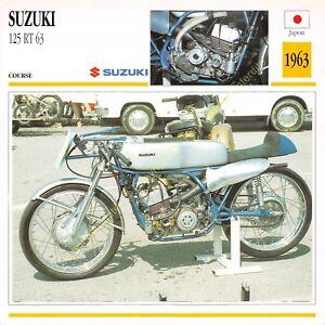Stecker Foto Moto Japan Japan Suzuki 125 Rt 63 1963 Edito Service
