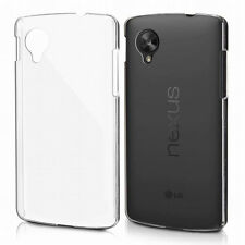 Ultra-Thin Transparent Clear Soft TPU Case Cover Skin For LG Google Nexus 5 LA