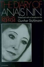 The Diary of Anais Nin 1931-1934 001 Paperback – 19 Mar 1969