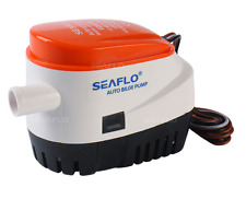 SEAFLO 750 GPH Bilge Pump with Built-In Float Switch - 12V Automatic 3/4""