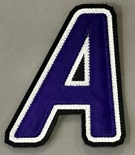 "LOS ANGELES KINGS ALTERNATE CAPTAINS ""A"" PATCH 99-02 HOME JERSEY LUC ROBITAILLE"