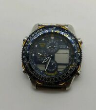 CITIZENS WR 100 BLUE ANGLES WRIST WATCH NAVIHAWK 860564 STAINLESS - PARTS