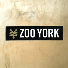 Zoo York vinyl sticker skateboard EAST NYC box logo ZY bumper laptop SK8