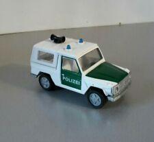 Siku Polizei Geländewagen Mercedes Benz 280 GE 1044 G-modell