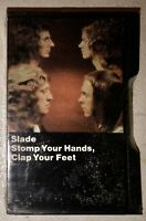 SEALED NEW SLADE CASSETTE TAPE STOMP YOUR HANDS, CLAP YOUR FEET 1974 BLACK CASE
