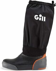 Gill Mens Offshore Sailing Black Size 14 Three Layer Waterproof Boots