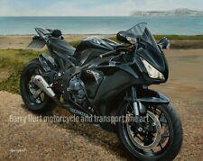 Honda CBR 1000RR Fireblade Motorcycle A3 Limited edition print