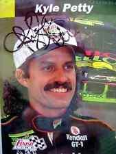 Kyle Petty autograph card 1993 Pro Set card # 38