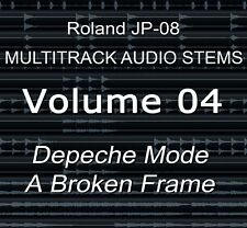 Roland JP-08 Multitrack Audio Stems Vol.4 Depeche Mode - A Broken Frame