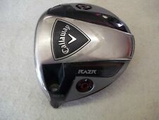 NICE LEFT HANDED CALLAWAY RAZR FIT 10.5* DRIVER CLUB HEAD ONLY MENS