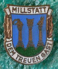 MILLSTATT AUSTRIAN CLIMBING MOUNTING OLD PIN BADGE