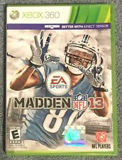 madden nfl 13 video games with manual ebay rh ebay com madden 15 manual madden 15 manual pdf