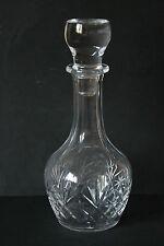 bauchige Karaffe Kristall geschliffen 1,2 Kilo   25111