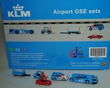 JC WINGS XX2021 KLM Airport GSE set 1 in 1:200