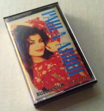 TEST!! 1992 Topps PAULA ABDUL Bubble Gum Cassette Box candy container fleer