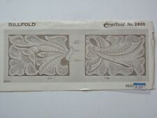 Vintage Craftaid #2800 for a Billfold