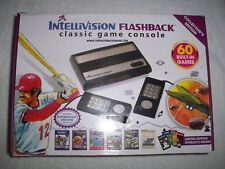 AtGames Intellivision IN460 Flashback Classic Game Console w/Wired Controllers!!