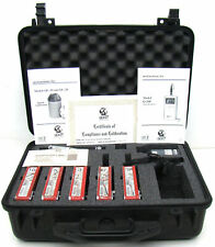 Tested Working Quest Q-200 Noise Dosimeter With QC-10 Calibrator/Manuals/Case i