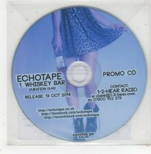 (GD951) Echotape, Whiskey Bar - 2014 DJ CD