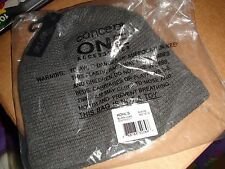 NWT MEN'S APT. 9 SOLID SHERPA-LINED BEANIE Size ONE SIZE CHARCOAL HEATHER