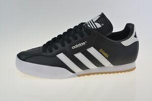 Adidas Original Samba Super Black 019099 Men's Trainers Size Uk 9