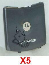 Lot Of 5 Oem Motorola Razor V3C V3M Cdma Battery Back Door Cover Good Used