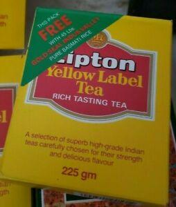 Lipton Yellow Label Finest Quality Loose Leaf Black Tea - NET WT 8 OZ (225g)