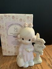 """""""Precious Moments"""" 1992 Loving Caring And Sharing Along The Way Figurine #C0013"""