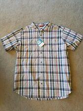 NWT Men's size XXL COLUMBIA shirt Button up 2XL NEW short sleeved