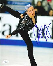 ADAM RIPPON SIGNED 8X10 PHOTO 9 JSA 2018 OLYMPICS FIGURE SKATING PYEONGCHANG USA