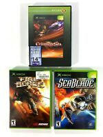 Crimson Sea & Fireblade  & Seablade Xbox Game Tested Works Great Lot Of 3