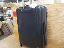 U.S. Traveler 1-Piece USB Port EZ-Charge Spinner Luggage Set, Black