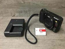 Sony Cyber-shot DSC-HX20V 18.2MP 20x Optical Zoom Digital Camera Black Tested