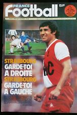 b)France Football 28/11/1978; Strasbourg-Duisbourg/ Mezy/ Milan-Manchester city