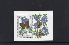 Turks and Caicos 1982 Butterflies Miniature Sheet  MNH  SG MS689