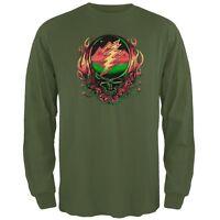 Grateful Dead - Scarlet SYF Dark Green Long Sleeve T-Shirt