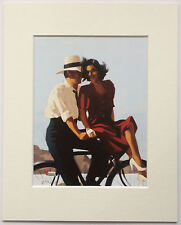 "Lazy Hazy Days by Jack Vettriano Mounted Art Print 10"" x 8"""