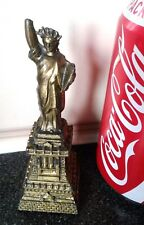 Famous Vintage Brass Statue of Liberty Replica, H-10.5cm/W-70g.Collectible