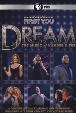 First You Dream: The Music of Kander & E DVD***NEW***