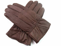 LADIES HIGH QUALITY GENUINE SUPER SOFT FULLY LINED LEATHER GLOVES WINTER DRIVING