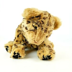 2008 WowWee Alive Cubs Leopard Plush Interactive Electronic Toy Tested Works