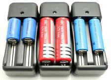 Battery Charger 14500 16340 17670 18350 18650 Dual Two Slot Li-ion US Plug USA