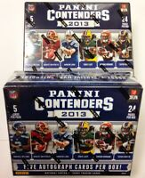 2013 Panini Contenders Football Complete Your Set Pick 25 Cards From List