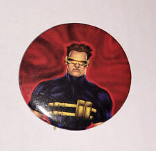 Cyclops X-men Button - Super Hero Pin-on Button