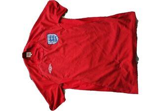 England Football Shirt - 2010 World Cup - Medium